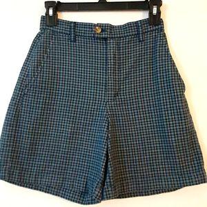 Eddie Bauer plaid shorts sz 4